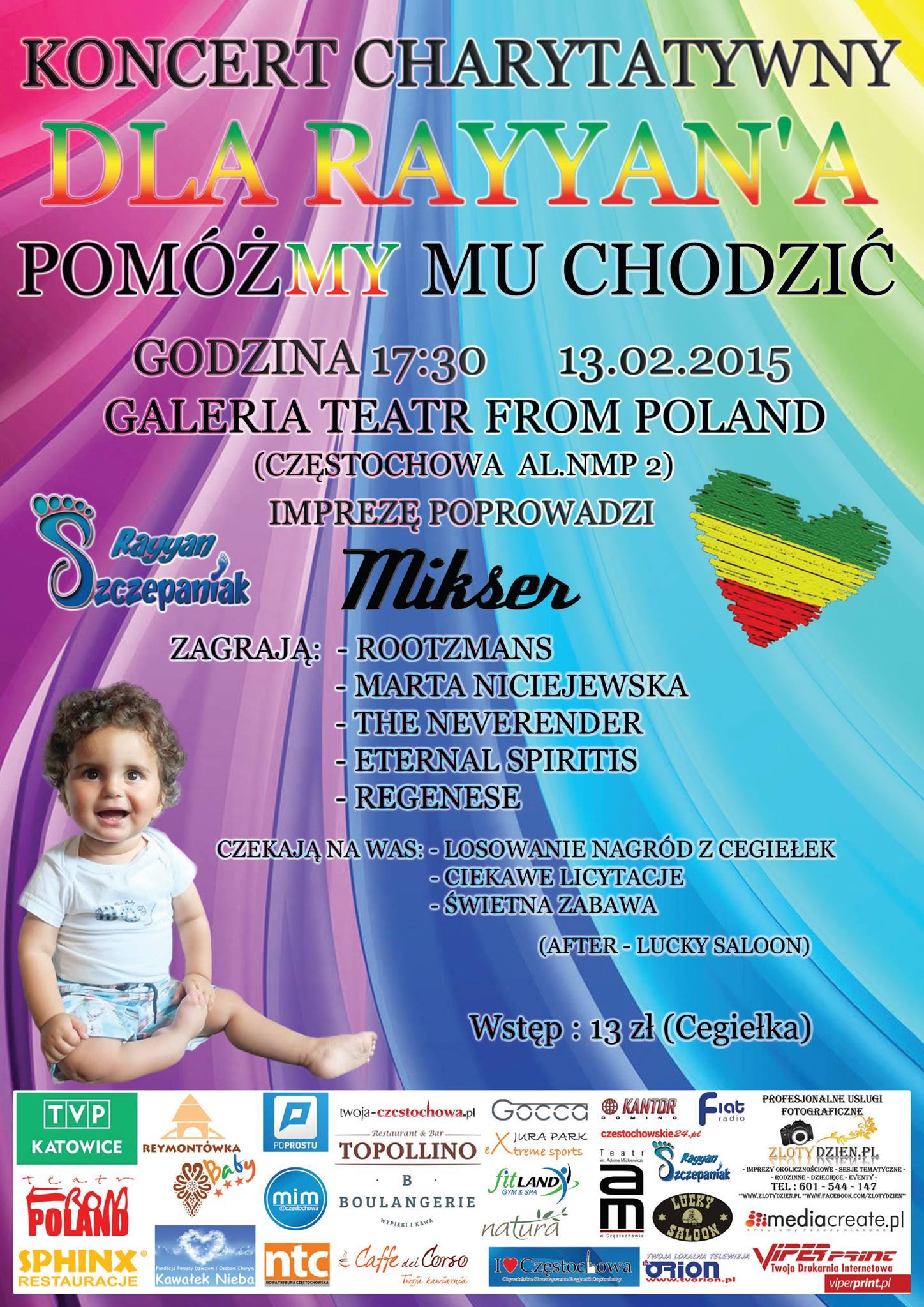 OSPC wspiera Rayyana – zapraszamy na koncert !